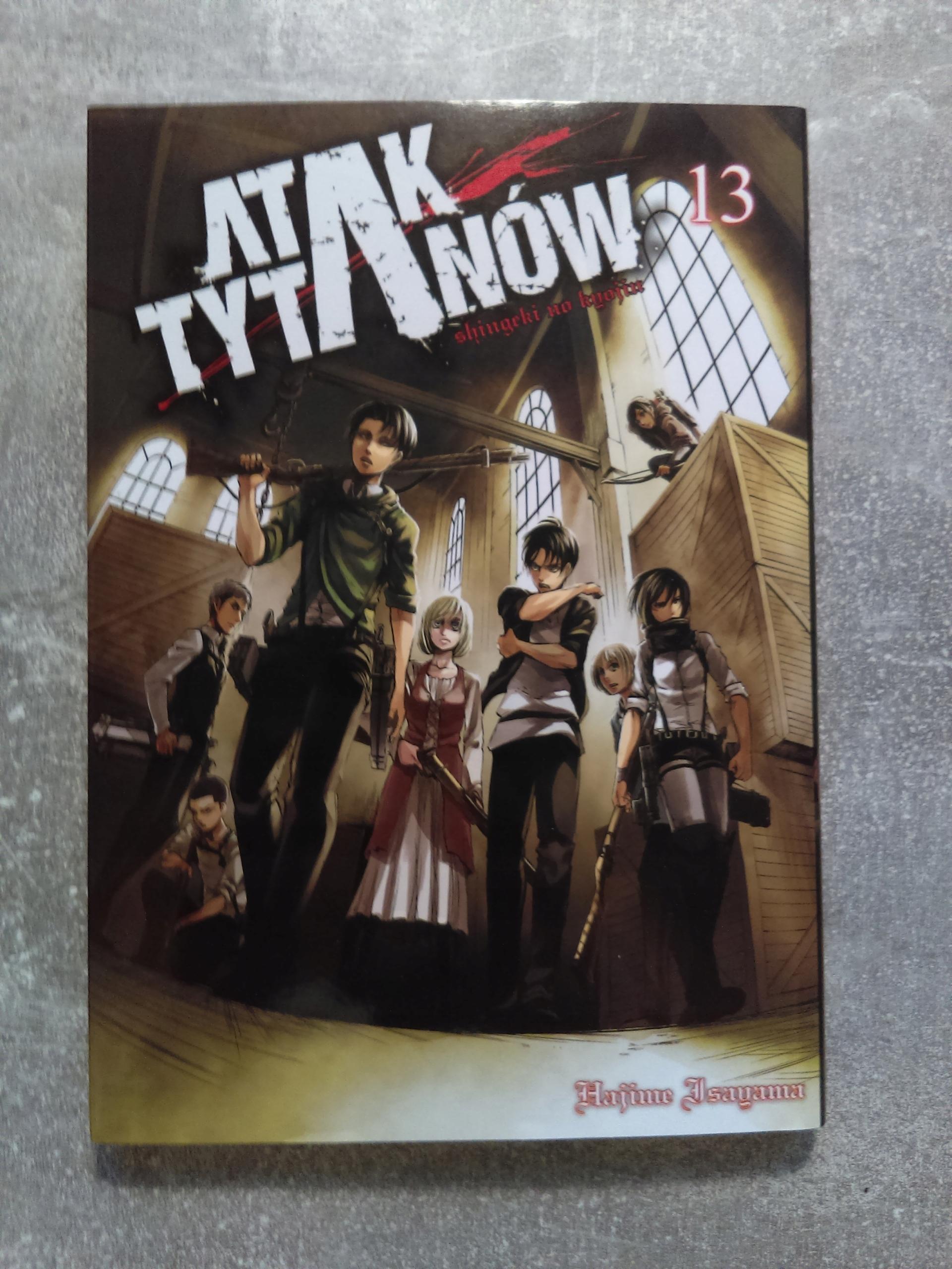 Manga Atak Tytanów tom 13 - Attack On Titan - BDB