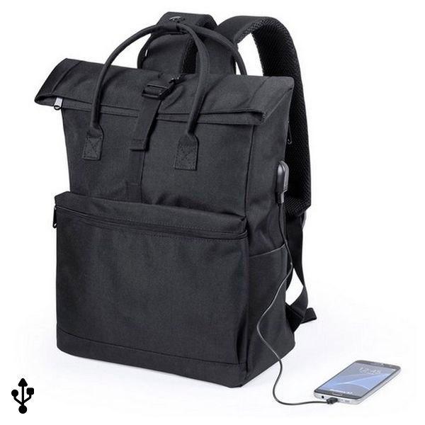 Plecak na laptopa i tableta z wyjściem USB 145532
