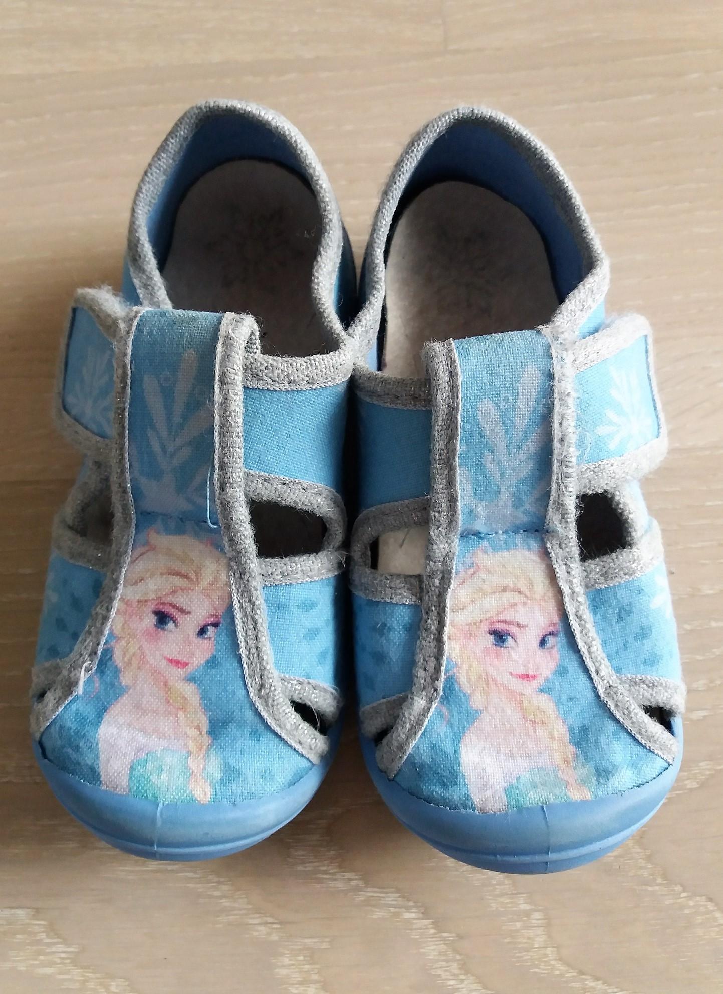 03f0552d5e24d Elsa Frozen Disney 26 Kapcie 16cm Skórzana CCC - 7262383925 ...
