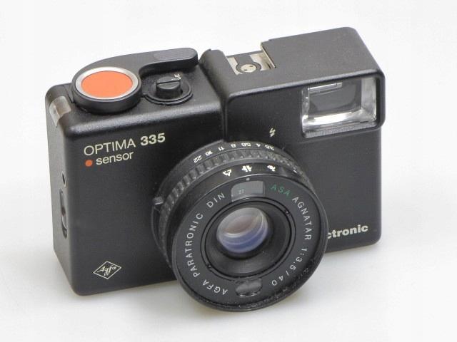 AGFA OPTIMA 335 SENSOR- aparat fotograficzny