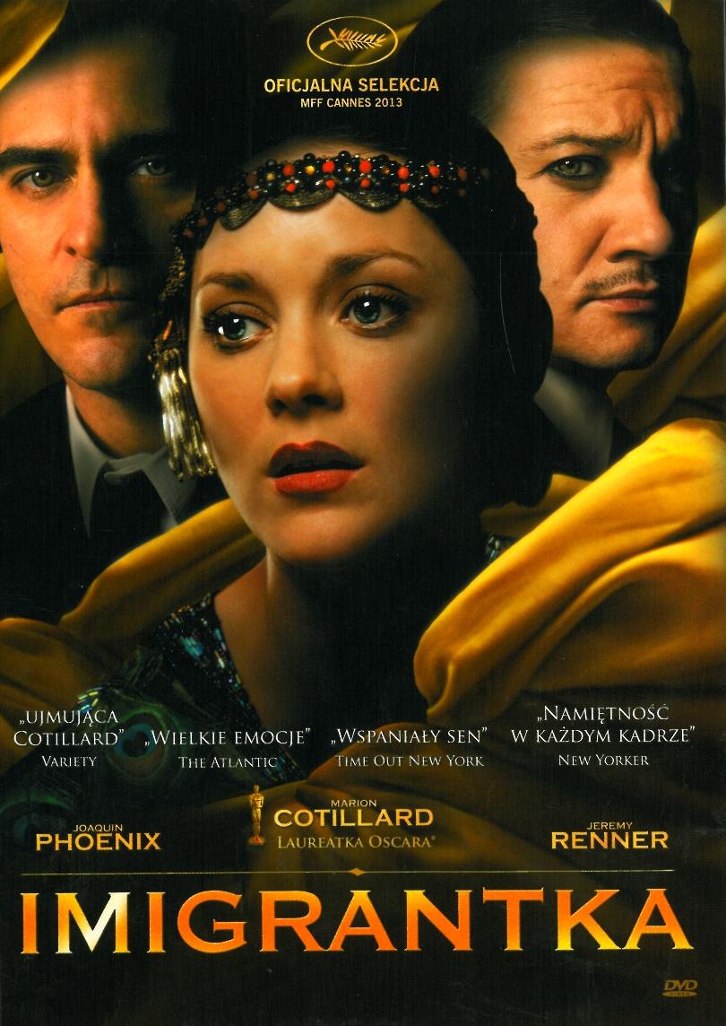 IMIGRANTKA Cotillard Gray ( EMIGRANTKA ) DVD FOLIA