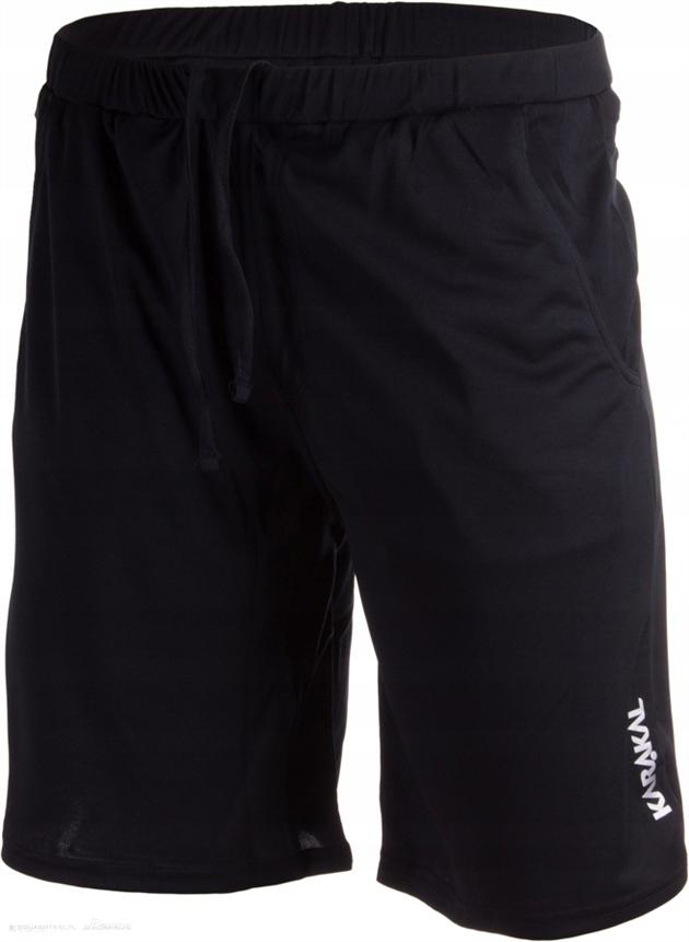 Spodenki Karakal Leon shorts | Czarny | XXL