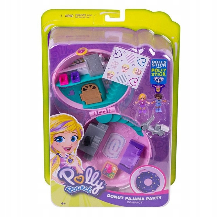 "POLLY POCKET PÄ""CZEK PAJAMA PARTY GDK82 4+"