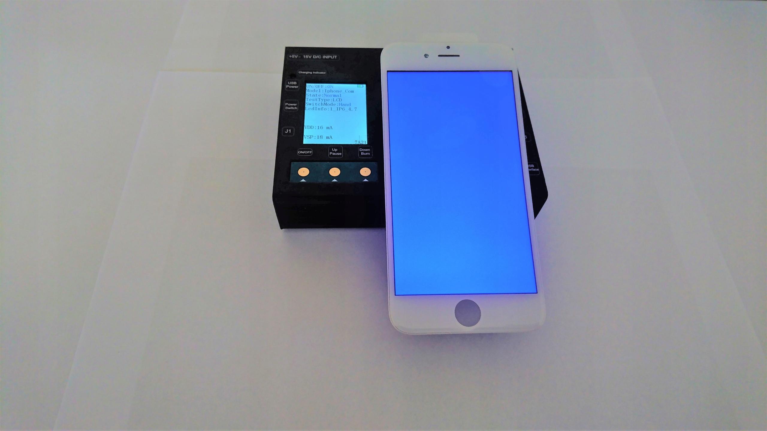 Tester wyświetlaczy Iphone