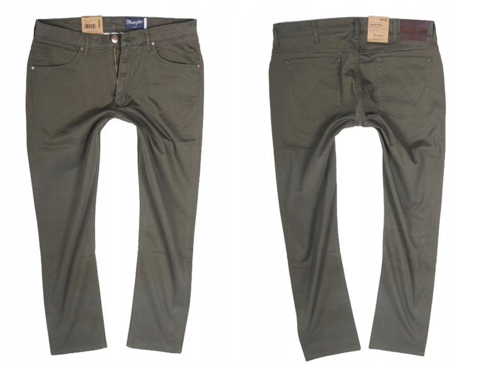 Wrangler Greensboro Forest Night Spodnie W34 L32