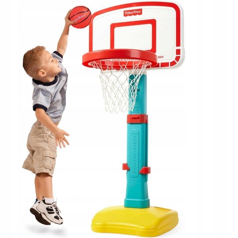 Fisher Price Koszykówka dla dzieci kosz regulowana