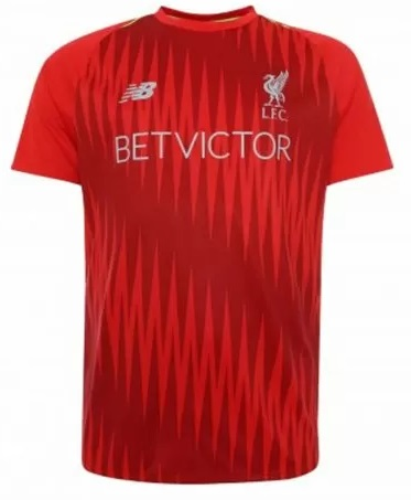 Koszulka przedmeczowa Liverpool NEW BALANCE M