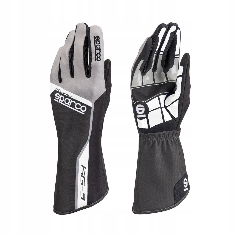 Rękawice Sparco Track KG-3 czarne (9)
