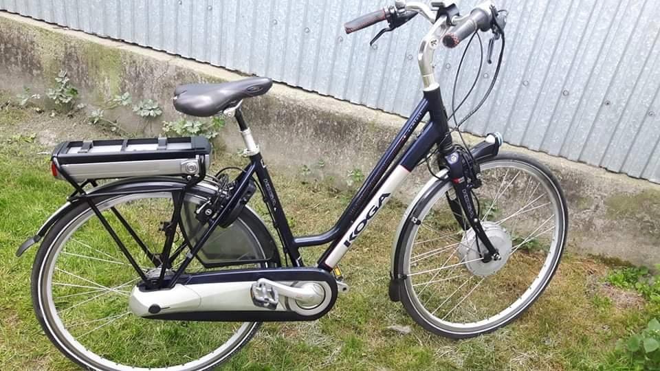 Holenderski rower elektryczny KOGA
