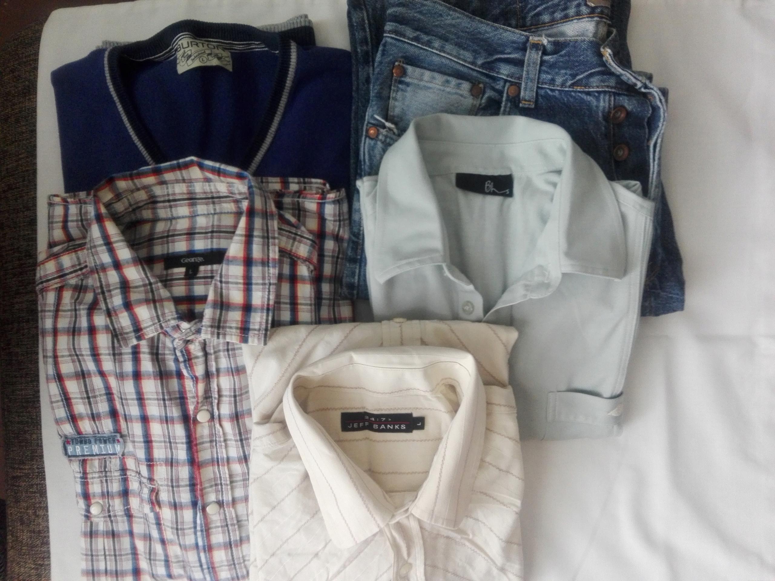 5 szt męskich ubrań - L
