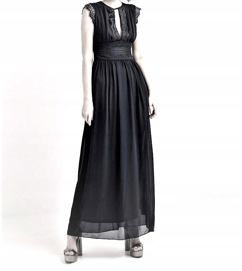 Sukienka TFNC maxi,czarna rozm.48