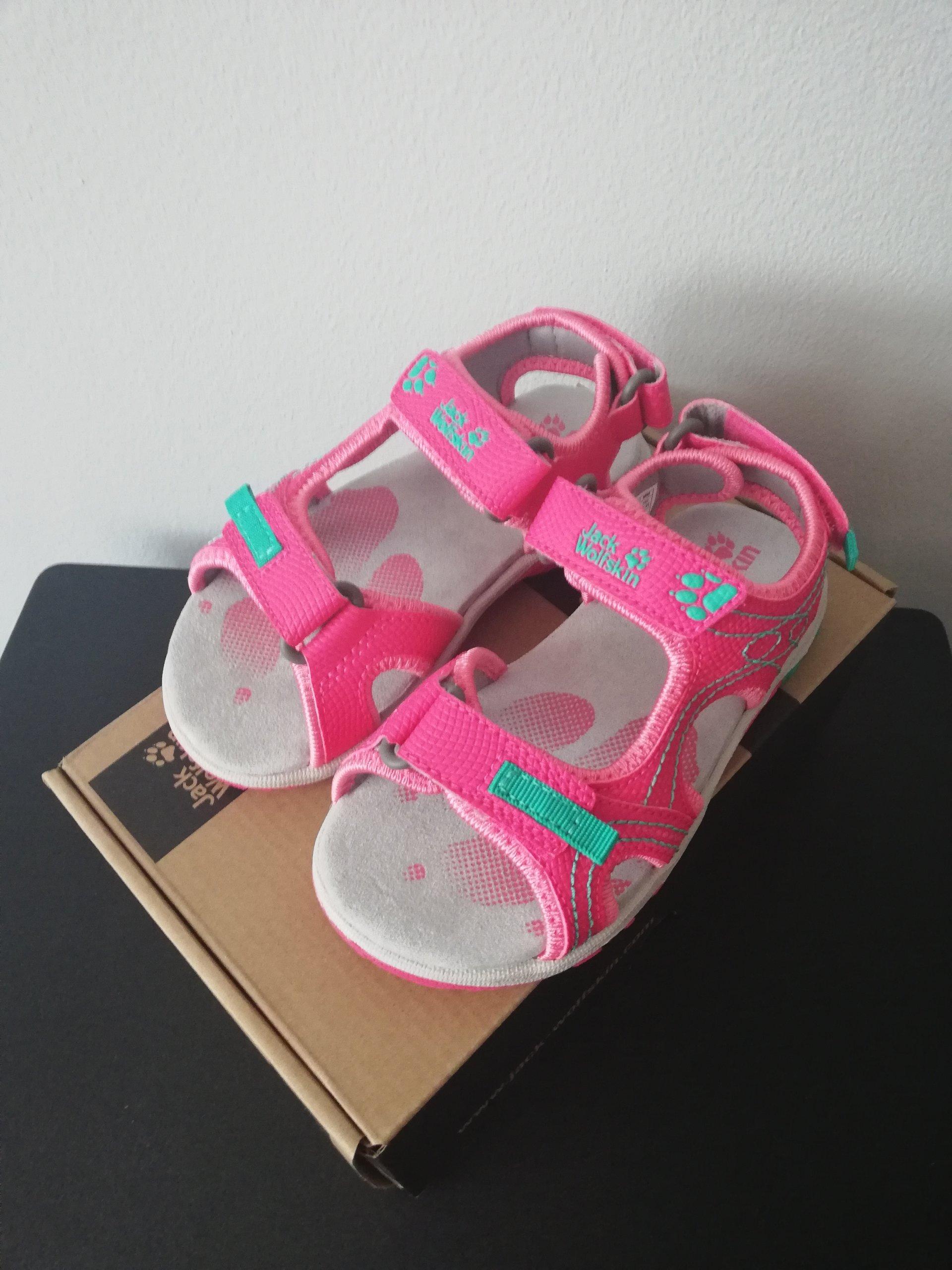 buty do biegania najlepsze oferty na buty do biegania Sandały JACK WOLFSKIN ACORA rozmiar 27