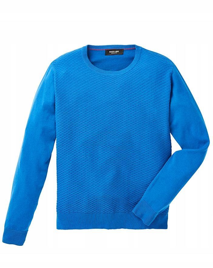 Sweter męski Black Label r. 3XL 142147 #6617 #Q