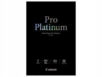 Papier Canon PT-101 Pro Platinum A3 20 ark.