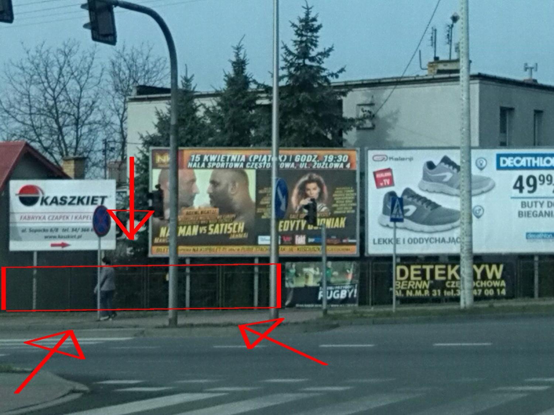 Baner Miejsce Na Reklame Do Wynajęcia Częstochowa
