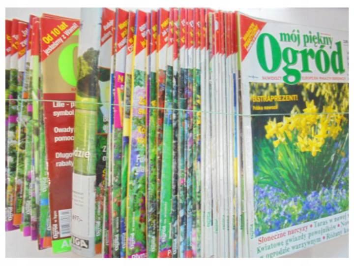 Mój piękny ogród 48 numerów z lat 2002-2010