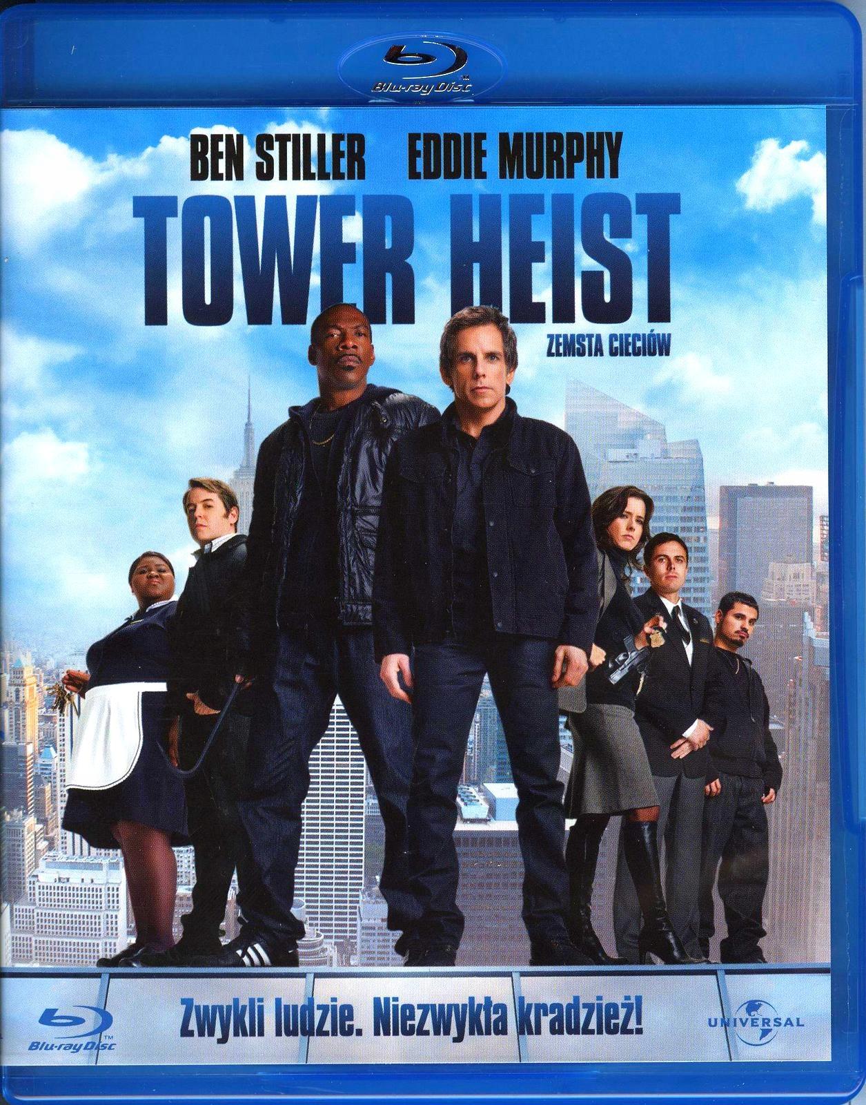 TOWER HEIST /ZEMSTA CIECIÓW/ BLU RAY