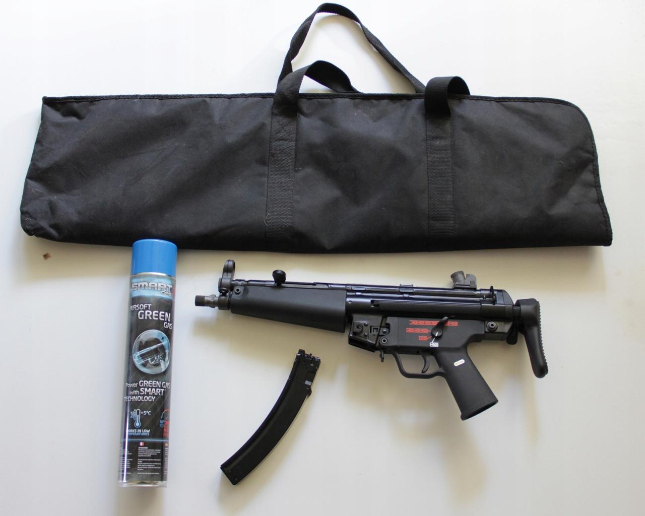 Replika pistoletu maszynowego ASG Apache A3 (MP5)