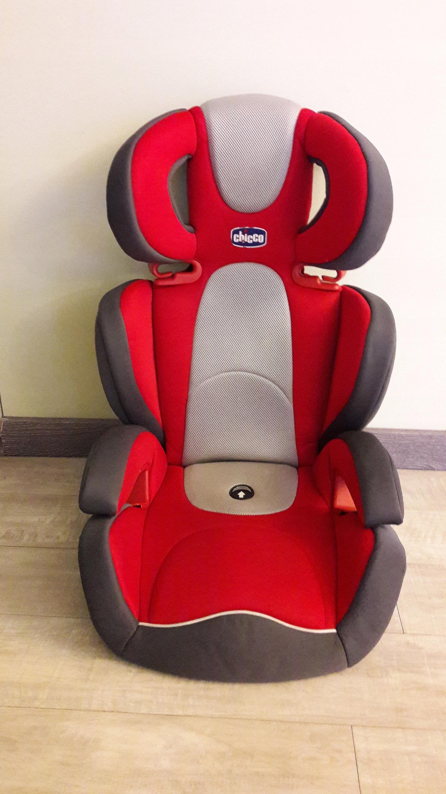 Fotelik Samochodowy Chicco Key 2-3 czerwony