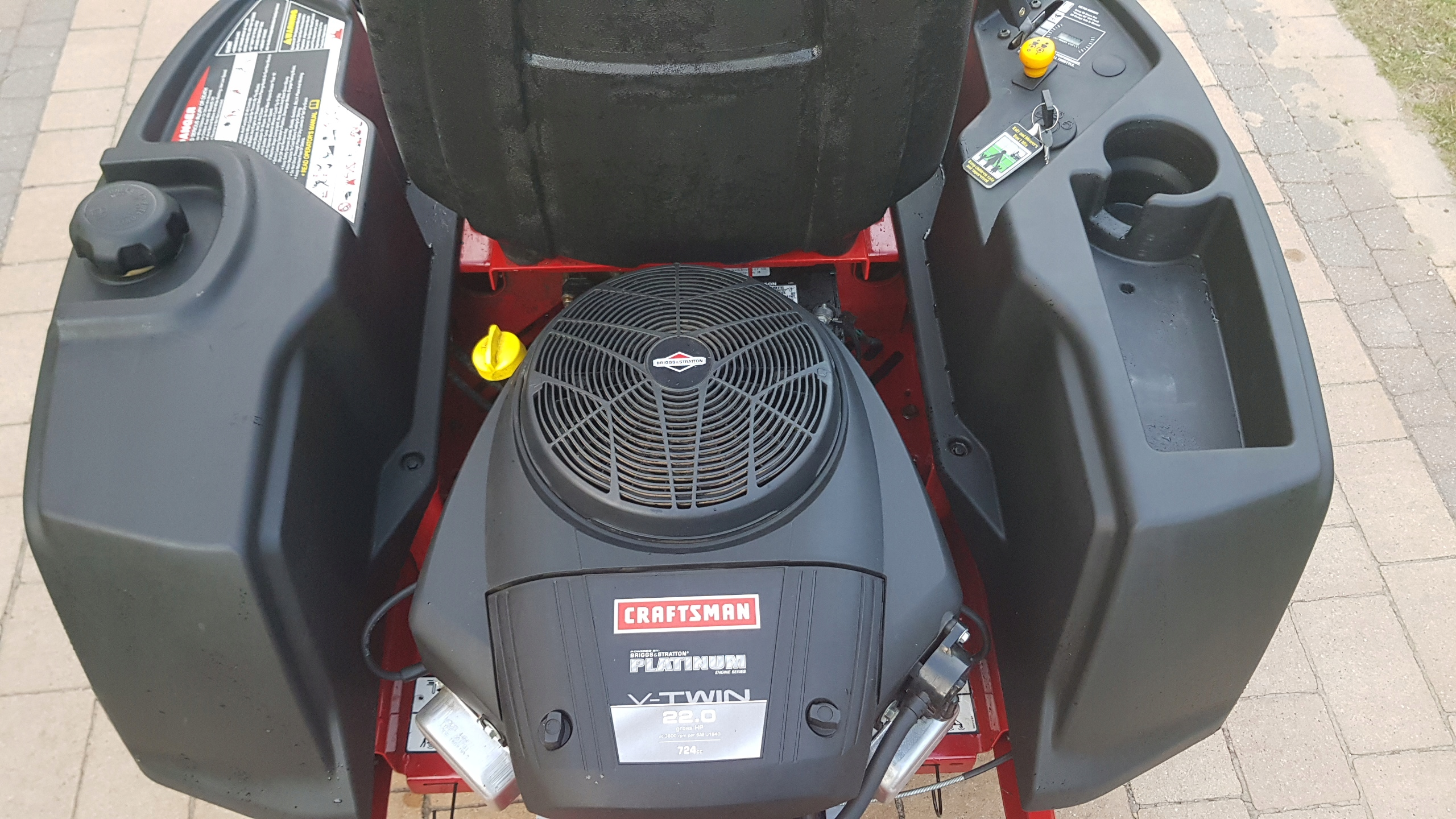 Craftsman Z6000 kosiarka ZERO TURN traktorek - 7705119088