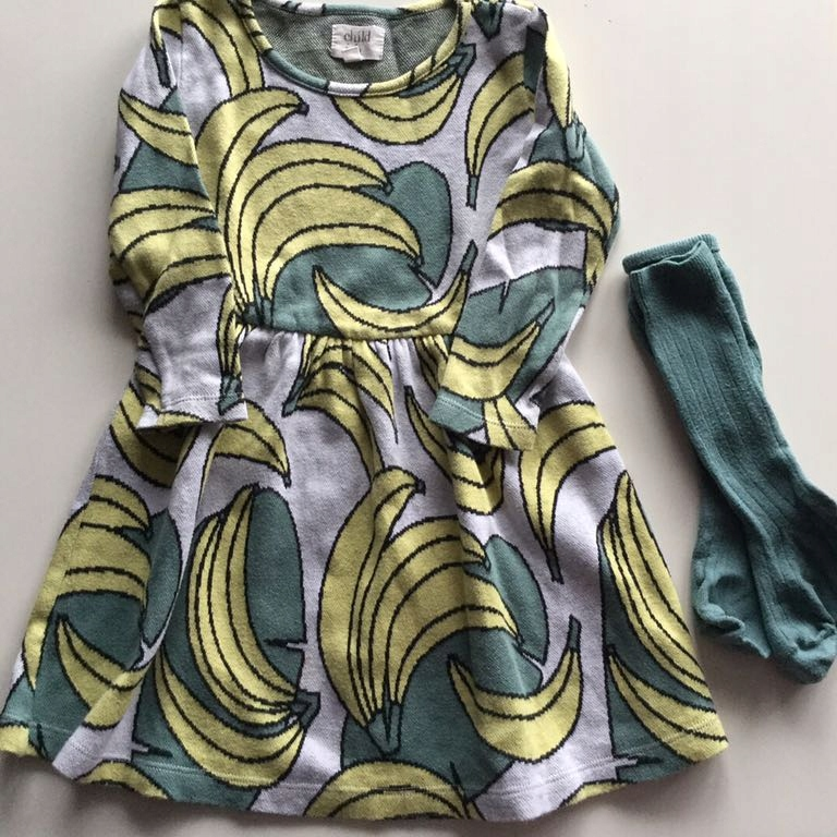 Childish Zara banany sukienka collegien 4/5