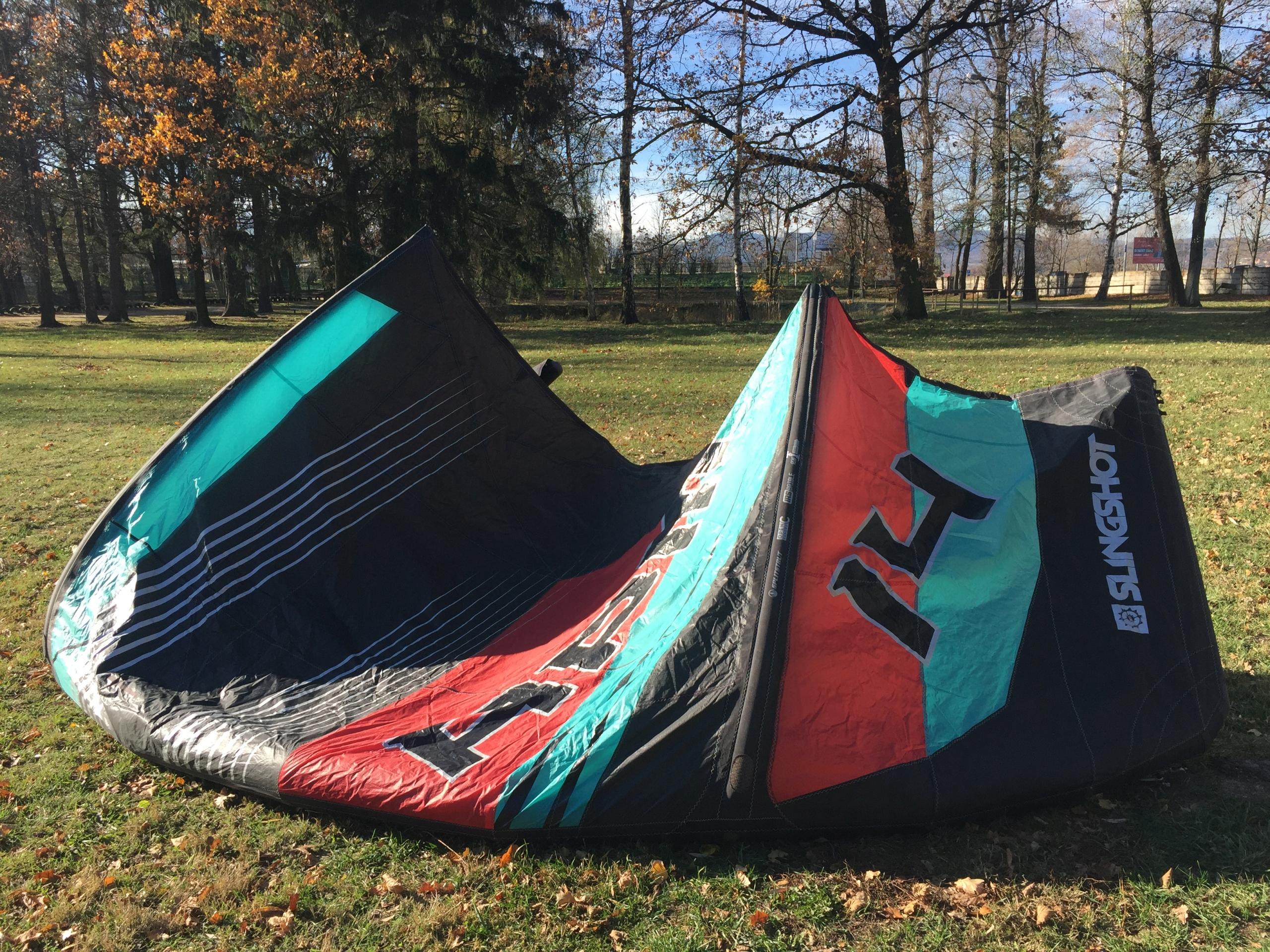 latwiec slingshot rpm 14 m, 2018 kitesurfing
