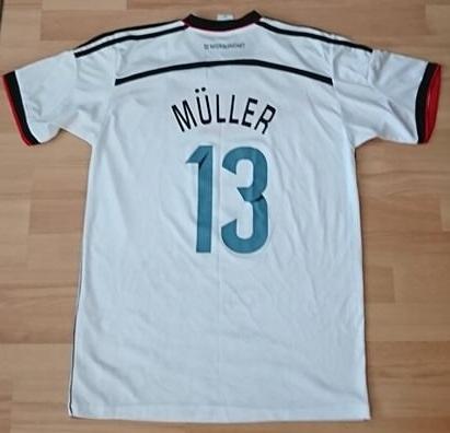 Koszulka THOMAS MULLER 13 - Niemcy - rozmiar M