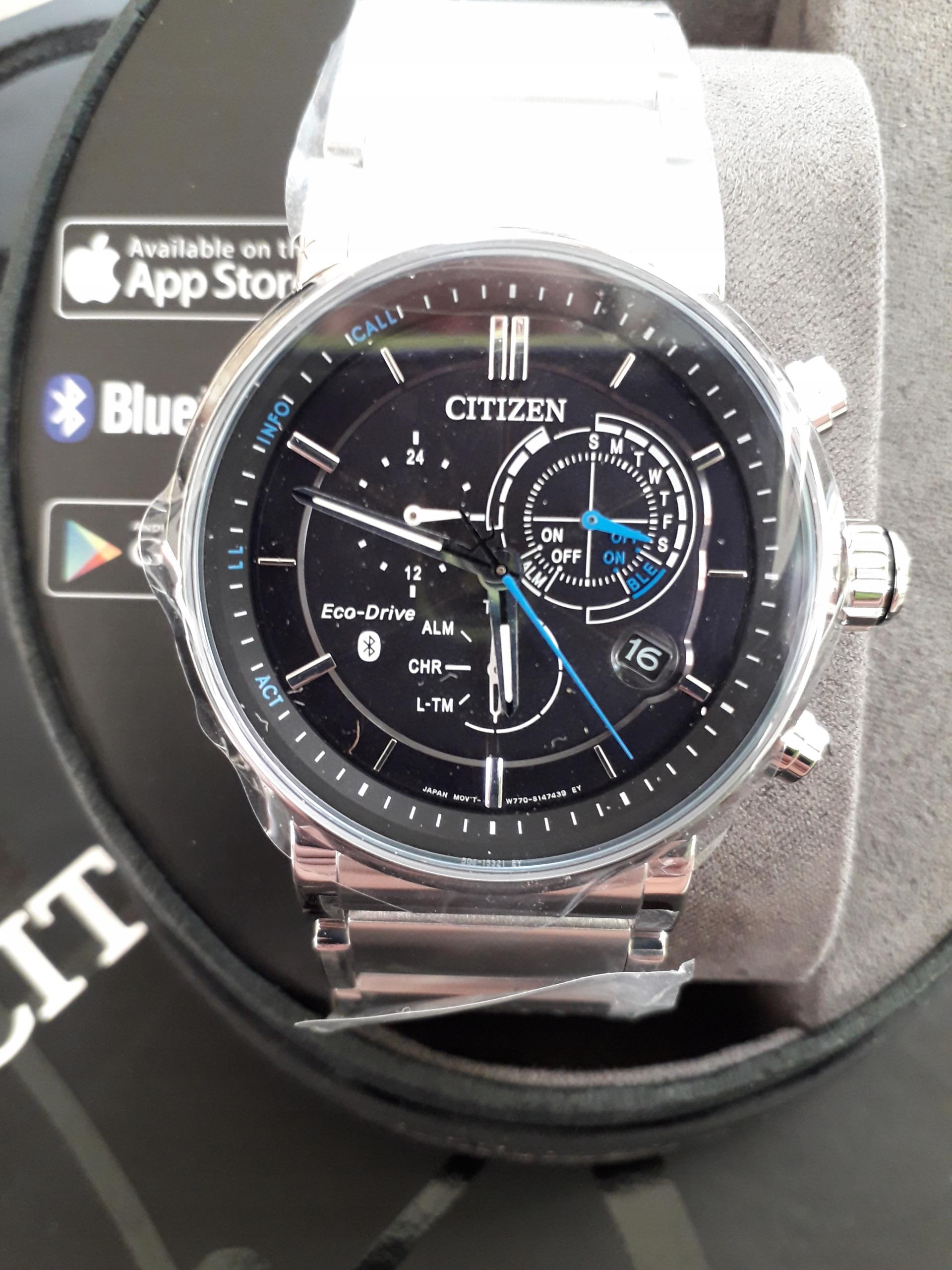 NEW Zegarek CITIZEN Smartwach BZ1000-54E Bluetooth