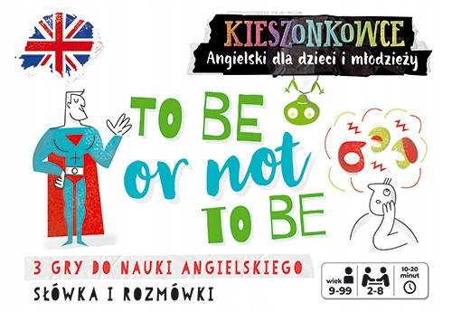 Kieszonkowce angielskie To be or not to be (9+)