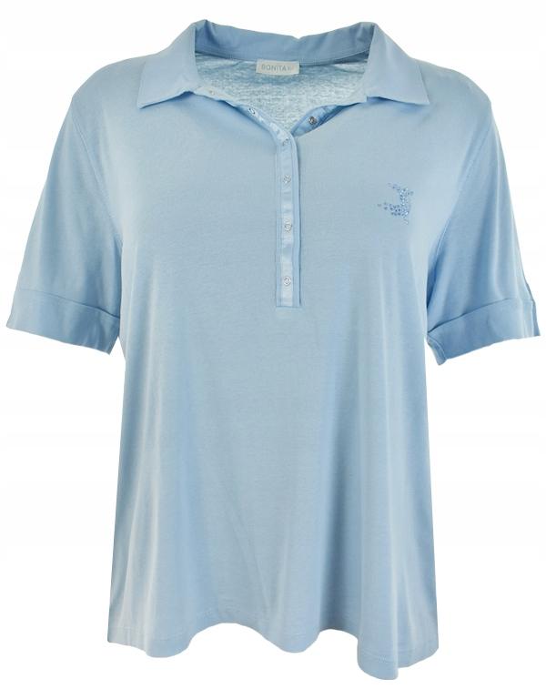 bXX4874 BONITA błękitna koszulka polo 52