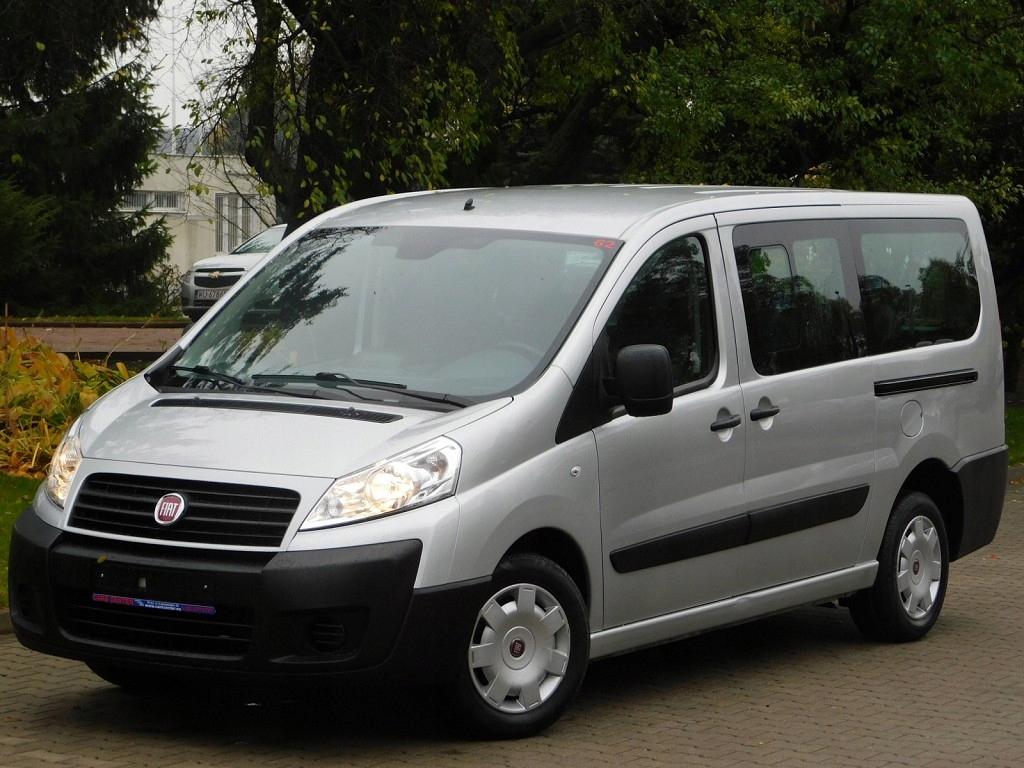 Fiat Scudo HDi-130 Długi! 9-Osób Klima! 2 x Drzwi