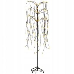 60372 vidaXL Drzewko LED Żółta wierzba płacząca