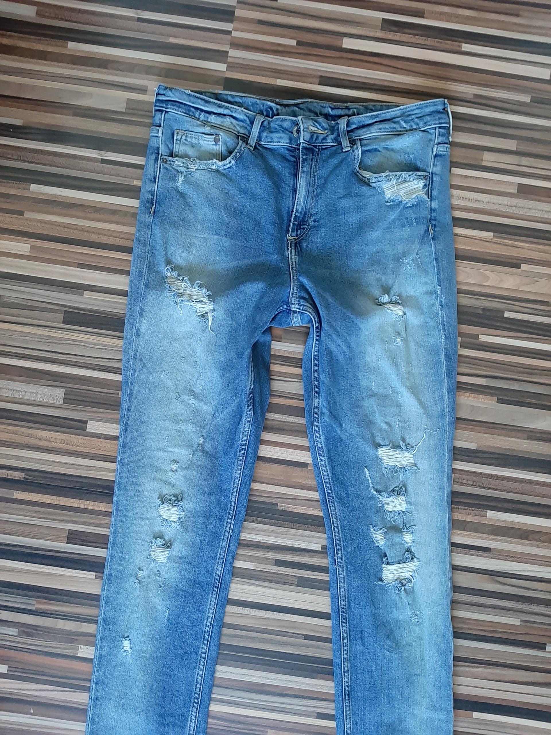 H&M spodnie jeansy męskie 31/32