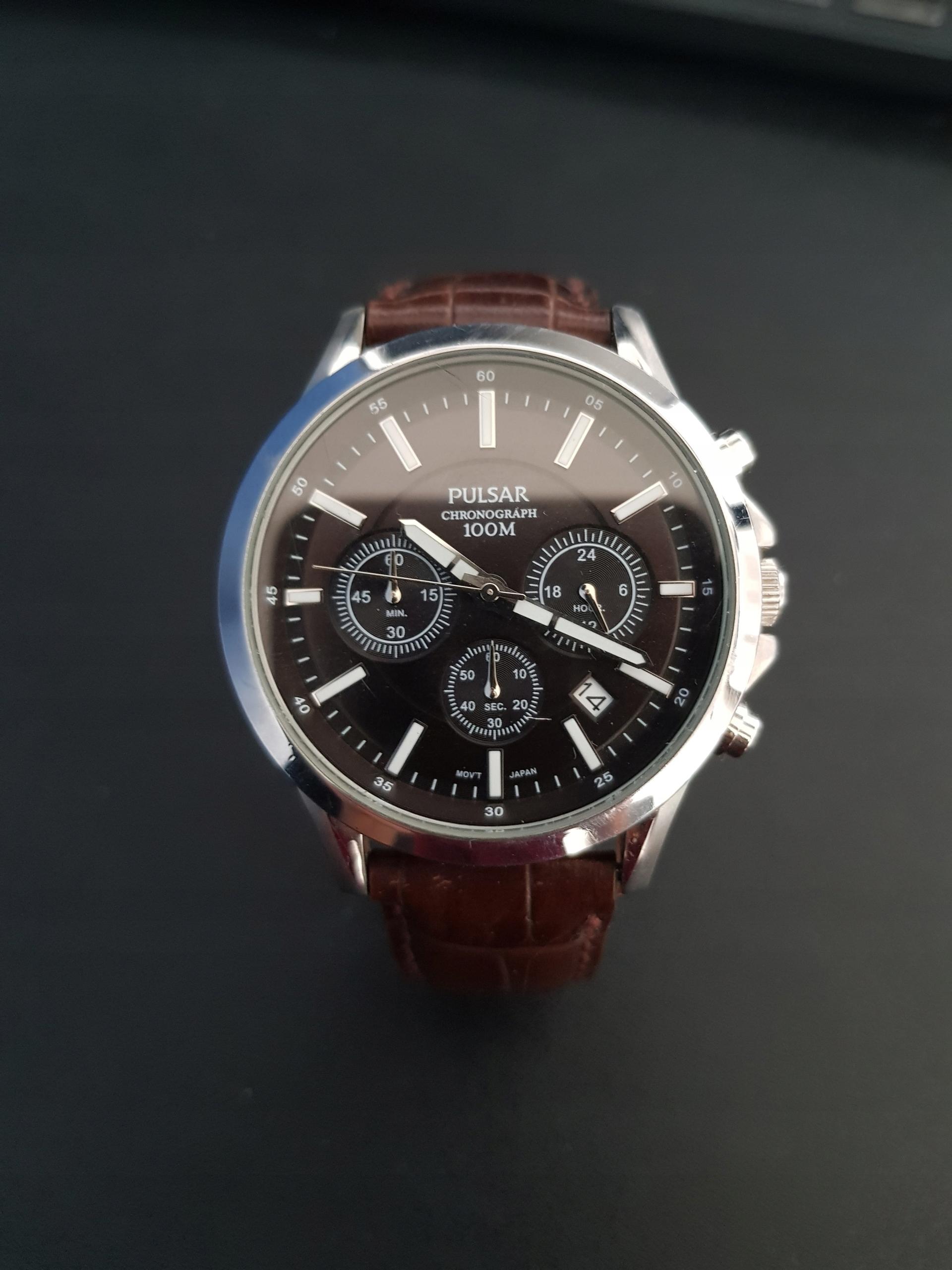 Zegarek męski Pulsar vd53-x012 chronograf 100M