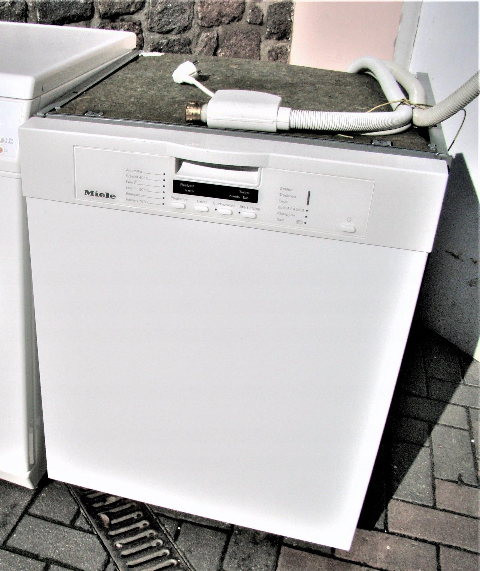 Miele G1222 SCU TurboKombiTab Wys.jakość zmywania