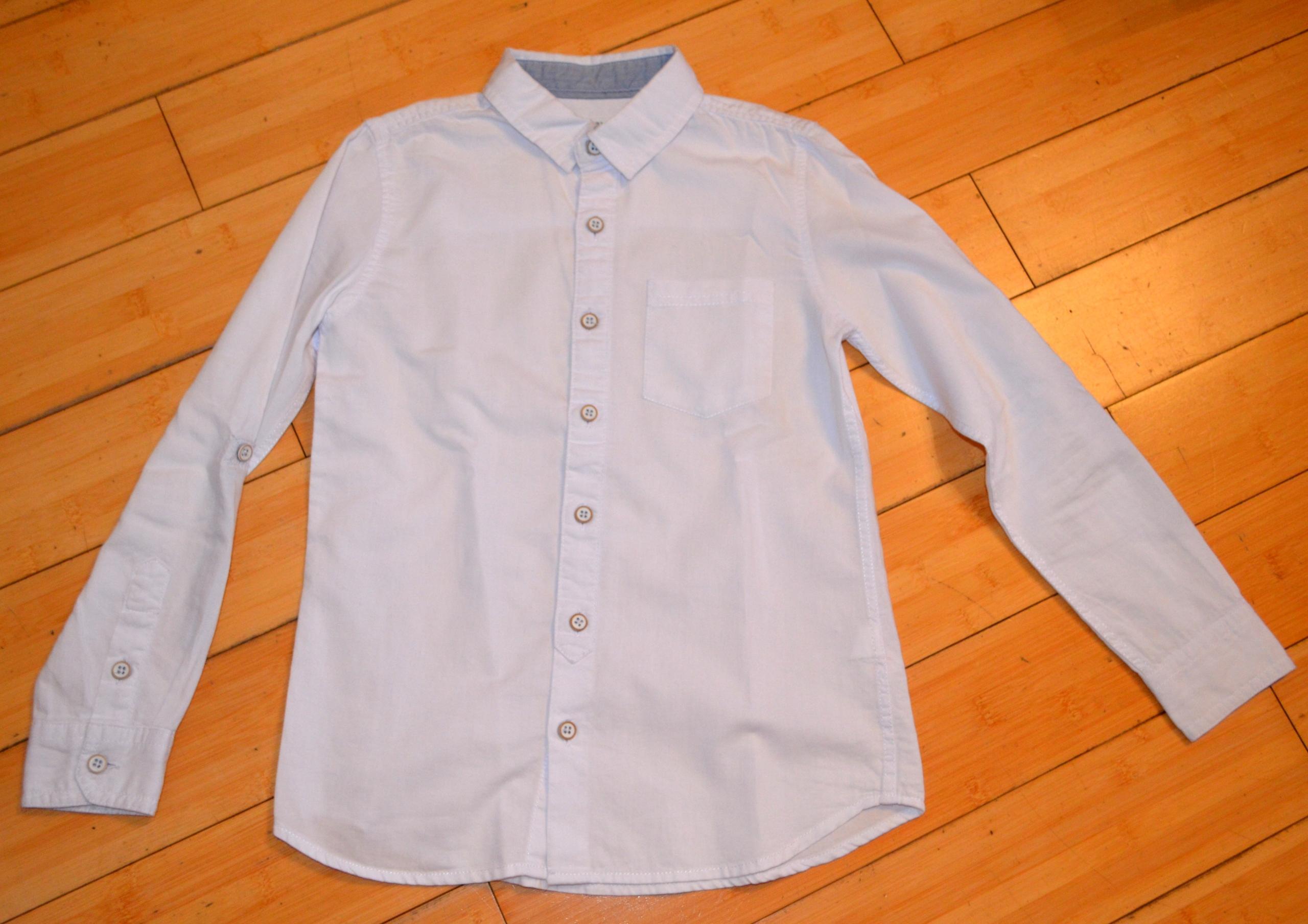 Koszula RE Rozmiar 134 biała