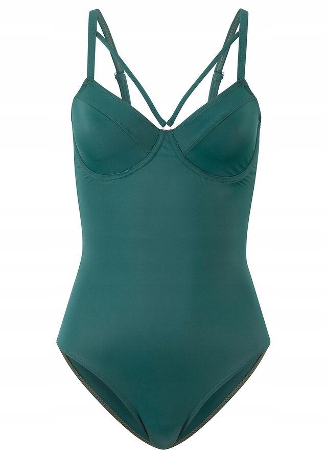 Kostium kąpielowy n zielony 52 (105) C 6XL 976294
