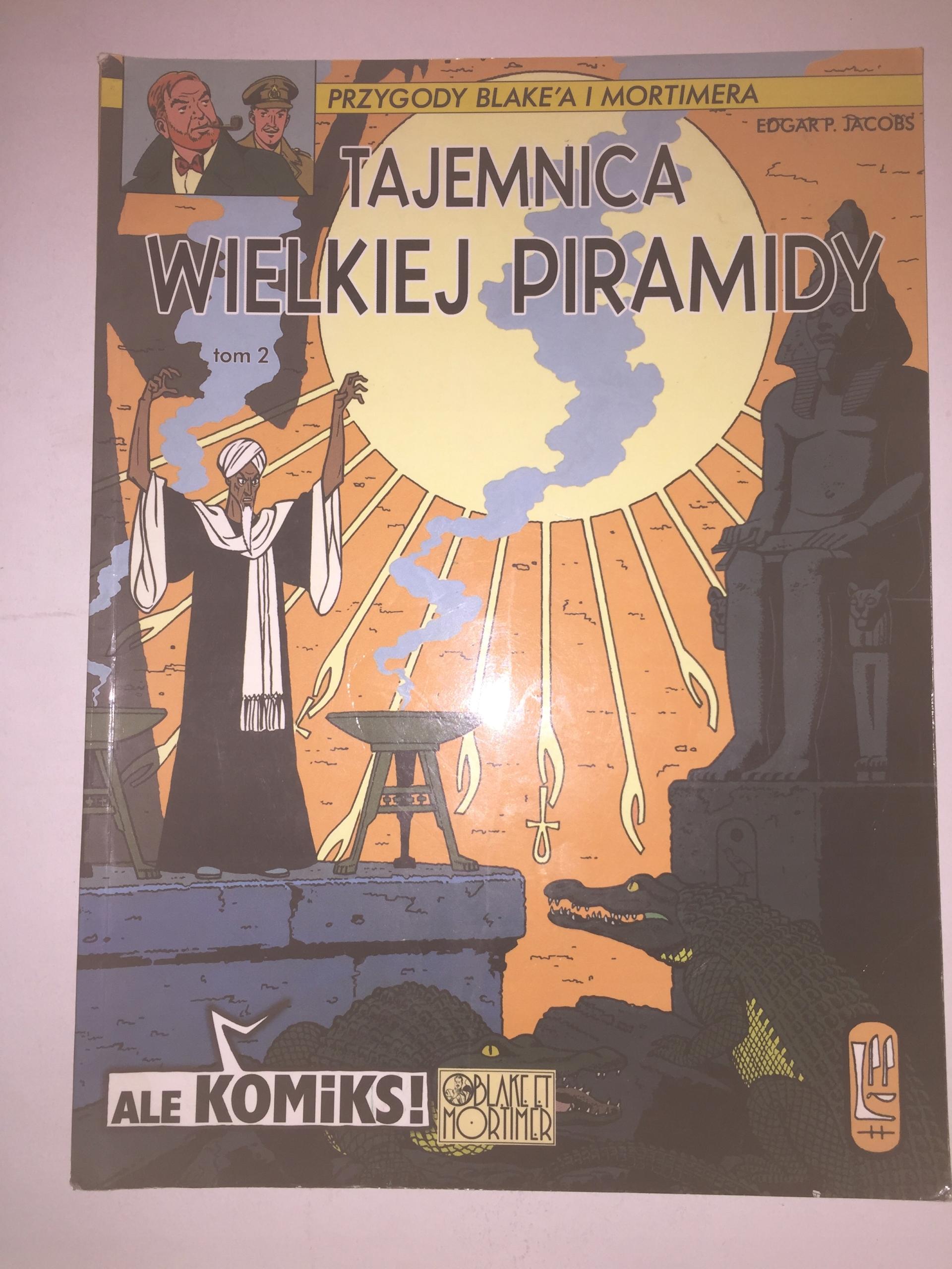 TAJEMNICA WIELKIEJ PIRAMIDY DB+ BLAKE I MORTIMER