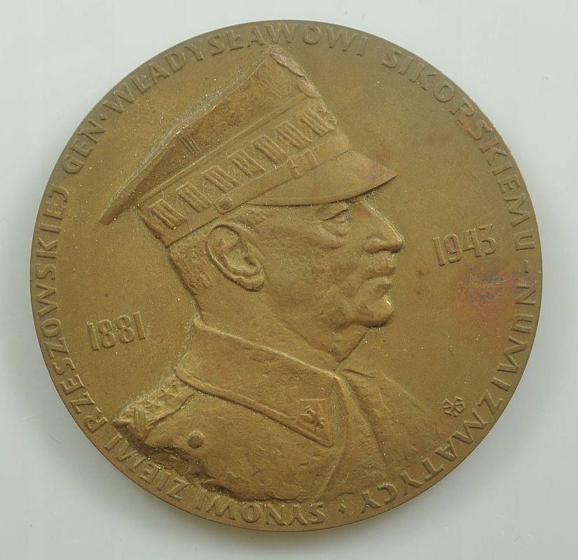 Medal - Gen. Sikorski - Rzeszów