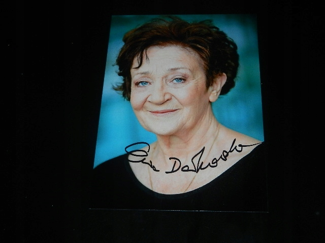 Super cena - Autograf- Dałkowska Ewa