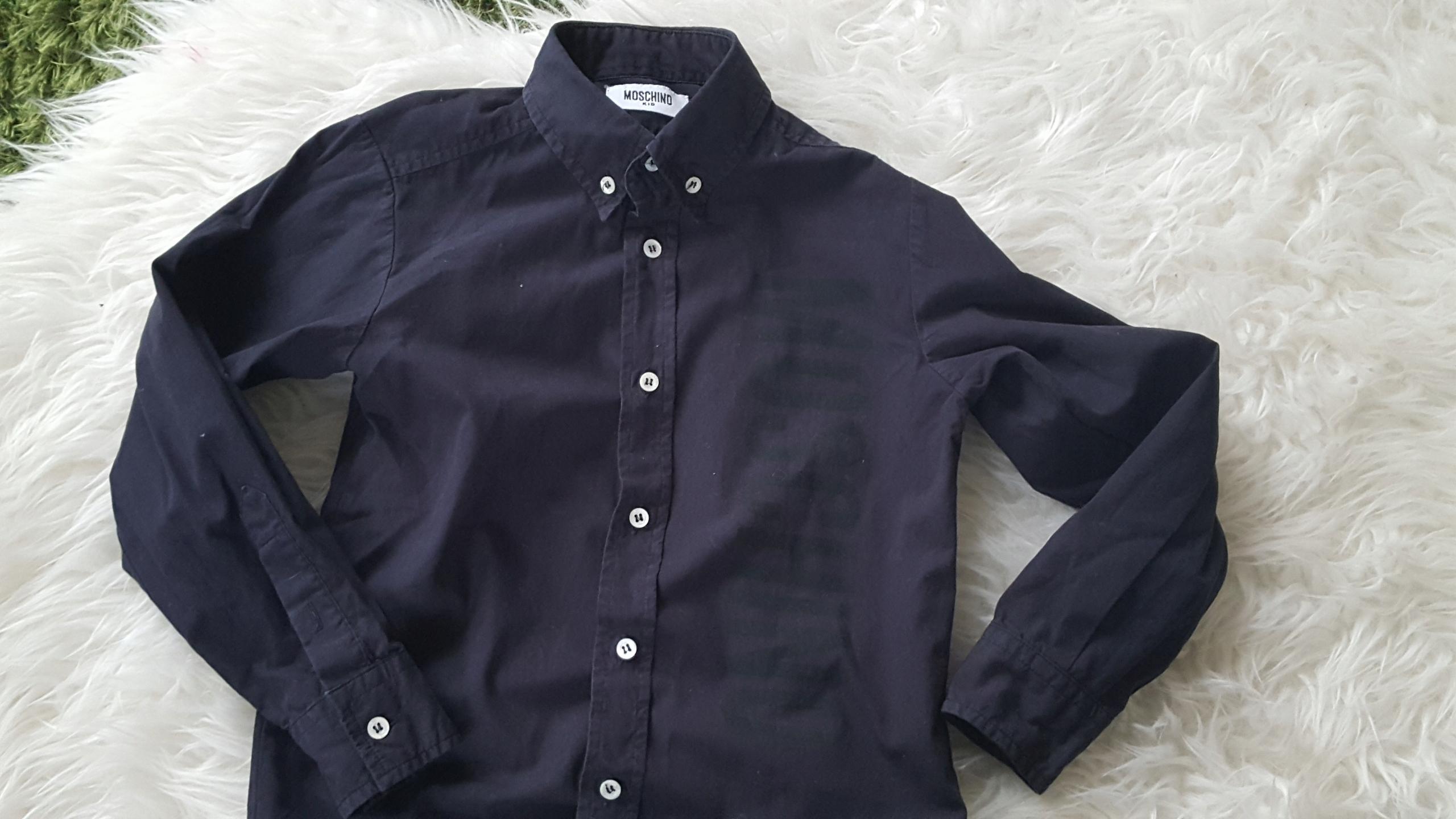 Koszula elegancka Okazje,Komunia MOSHINO KIDS 5 l