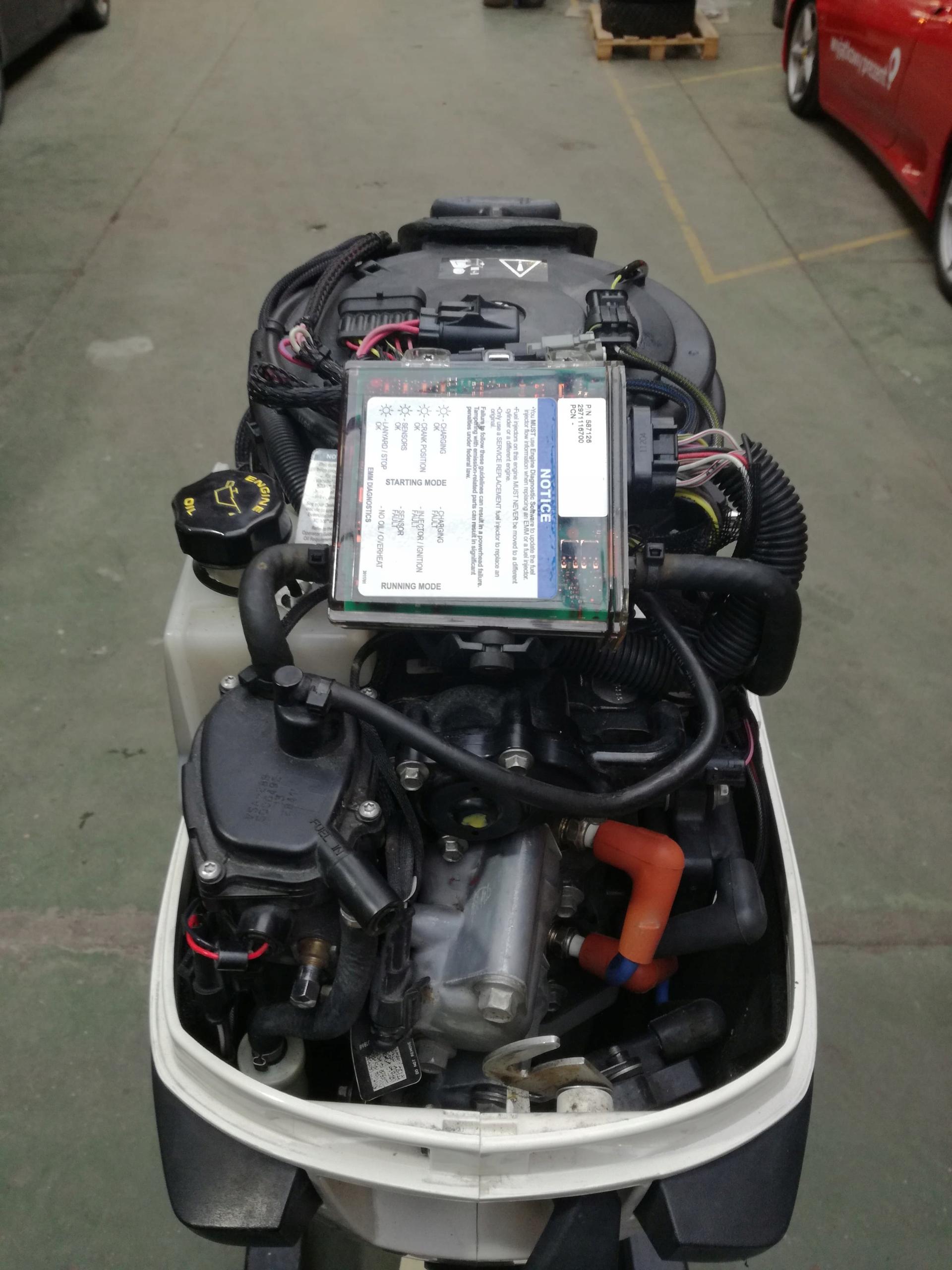 Silnik Evinrude E-TEC 30 KM rok 2011 nie Yamaha - 7840965587