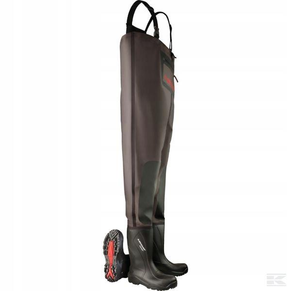 Wodery Dunlop oficerki Purofort, spodniobuty r.47