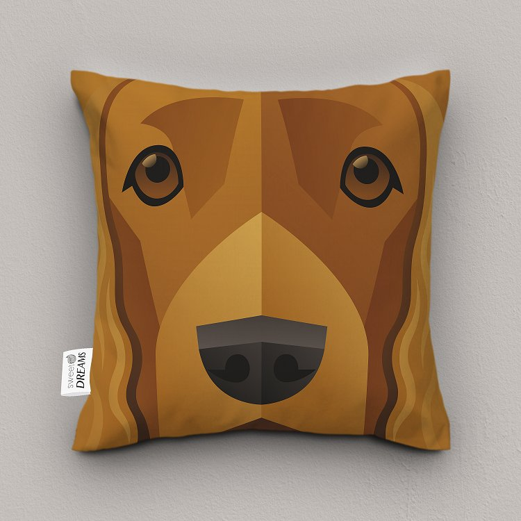 Poduszka Dekoracyjna Pies Cocker Spaniel 7295250973