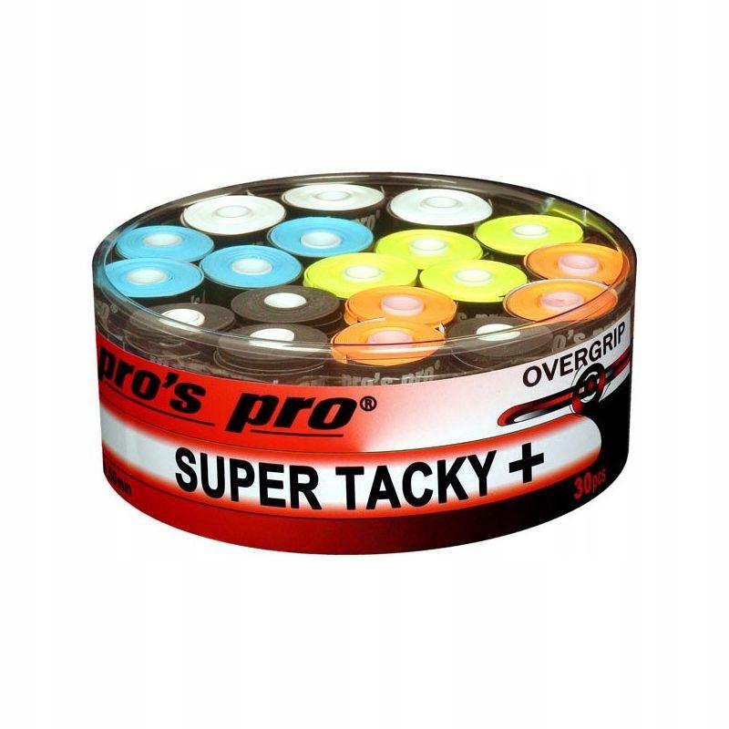 OWIJKI PRO'S PRO SUPER TACKY PLUS 30 SZT MIX
