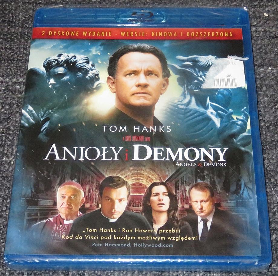 Blu-Ray: Anioły i demony (2009) Angels & Demon