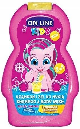 On Line Kids Szampon 2w1 Lemoniada 250ml ________