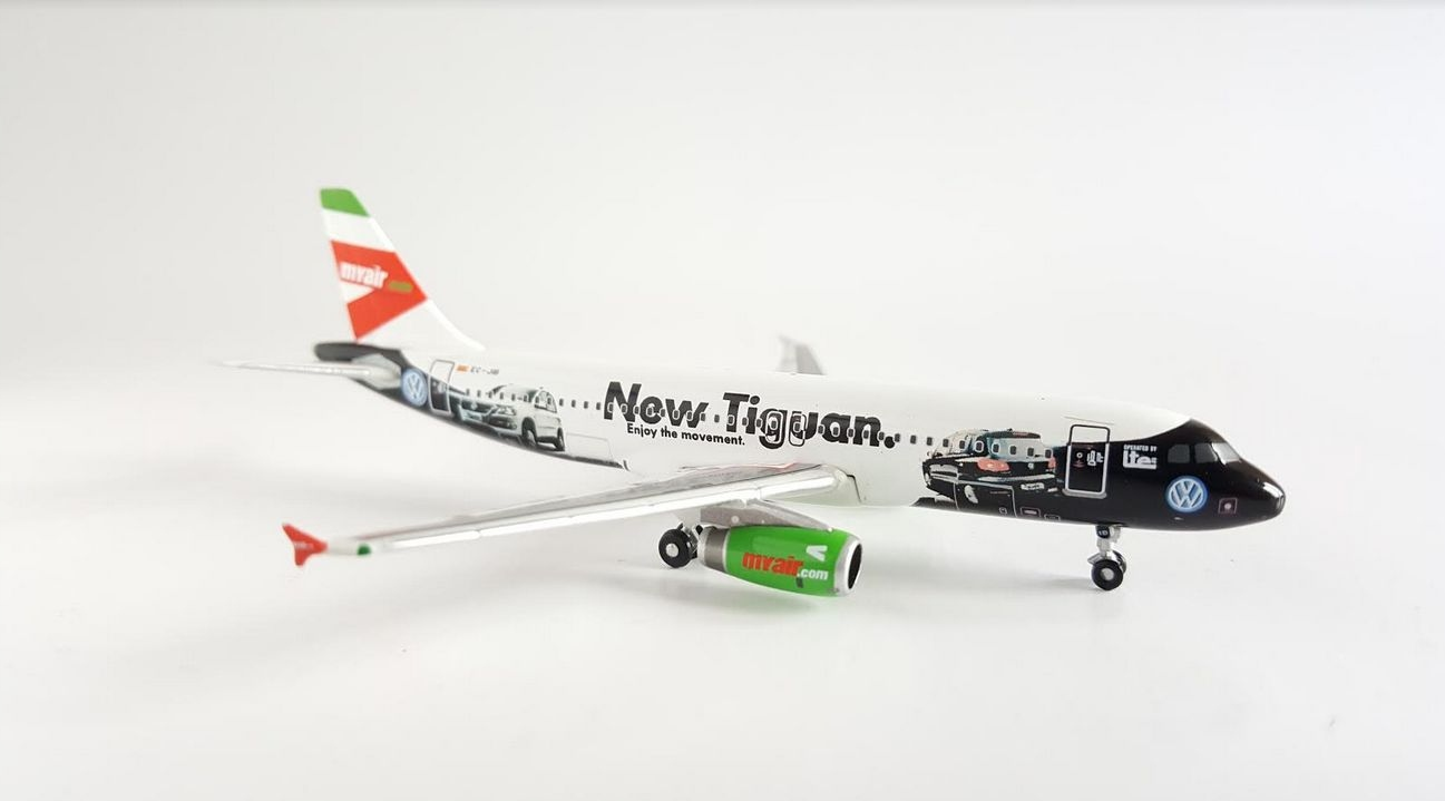 Model Airbus A320 myair VW New Tiguan 1:400 METAL