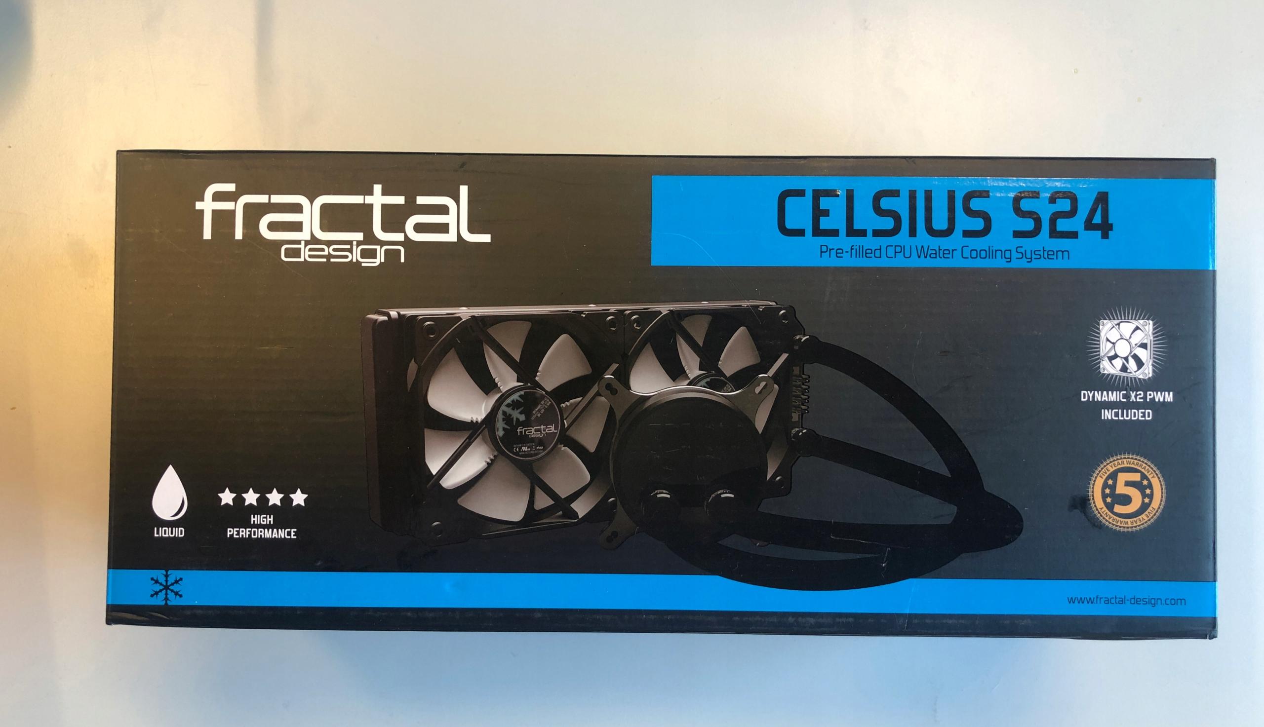 Chłodzenie wodne Fractal Design Celsius S24
