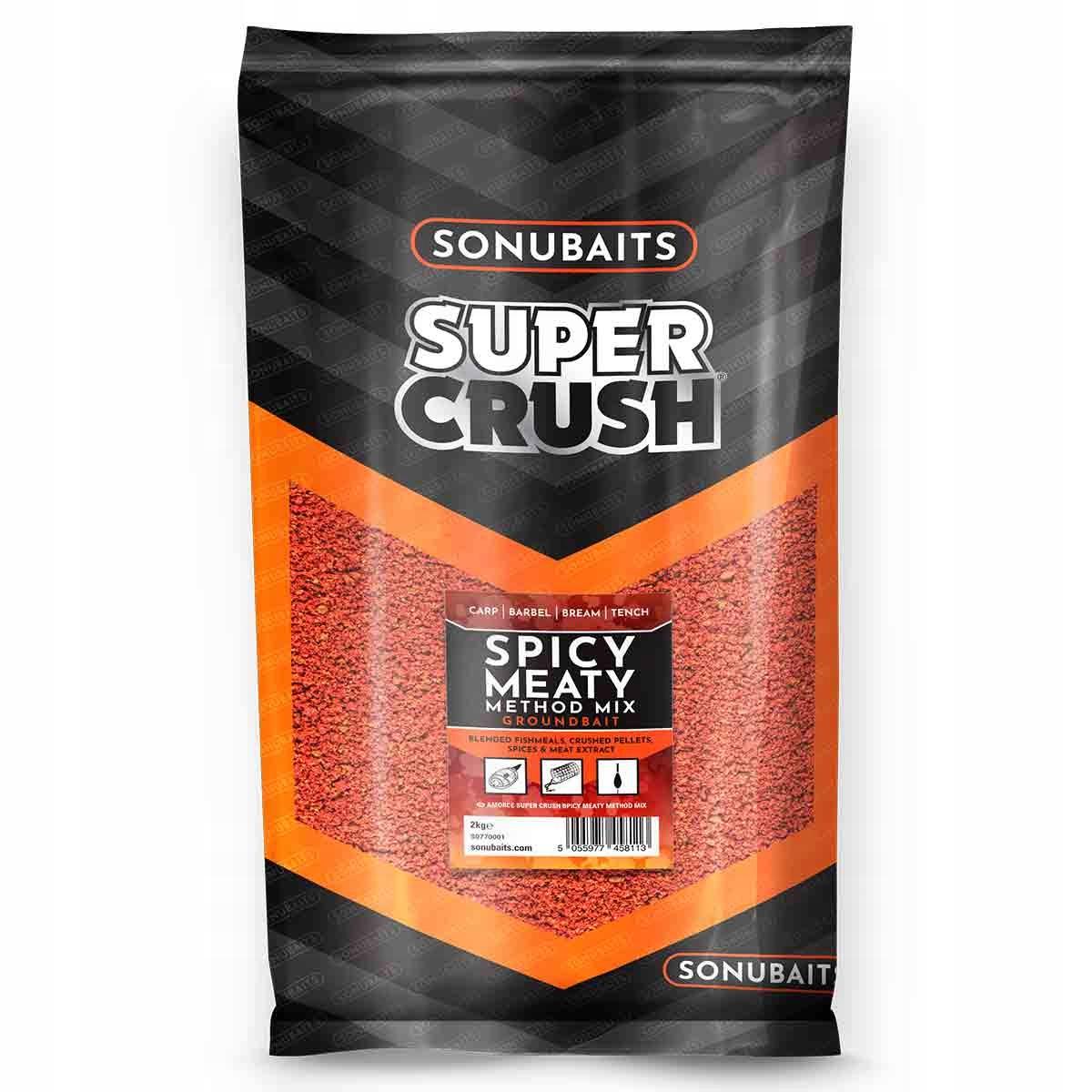 Sonubaits zanęta Spicy Meaty Method Mix